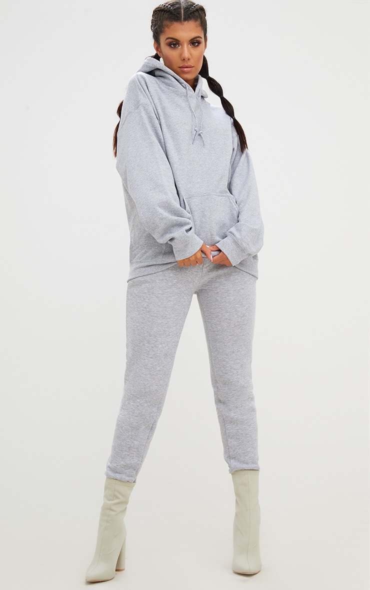Grey Marl Ultimate Oversized Hoodie 3