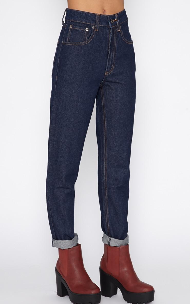 Clio Indigo Mom Jeans 4