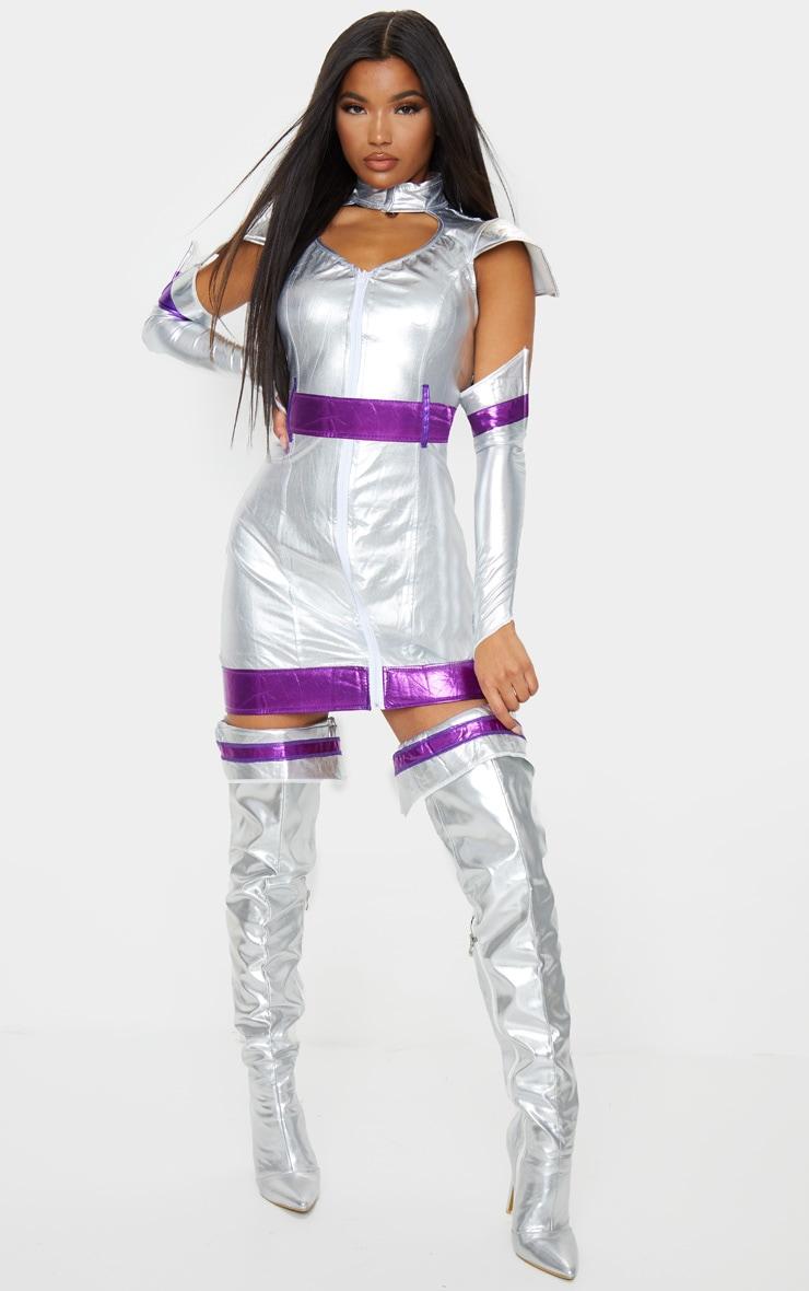 Premium Sexy Space Cadet Costume 1