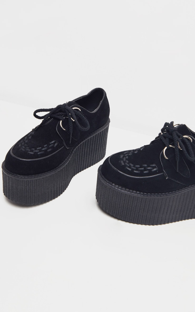 Black Extreme Platform Brogue 4