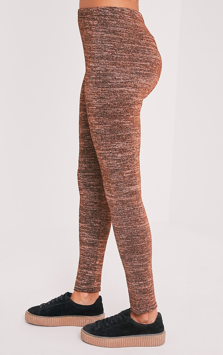 Sophie Bronze Metallic Leggings 3