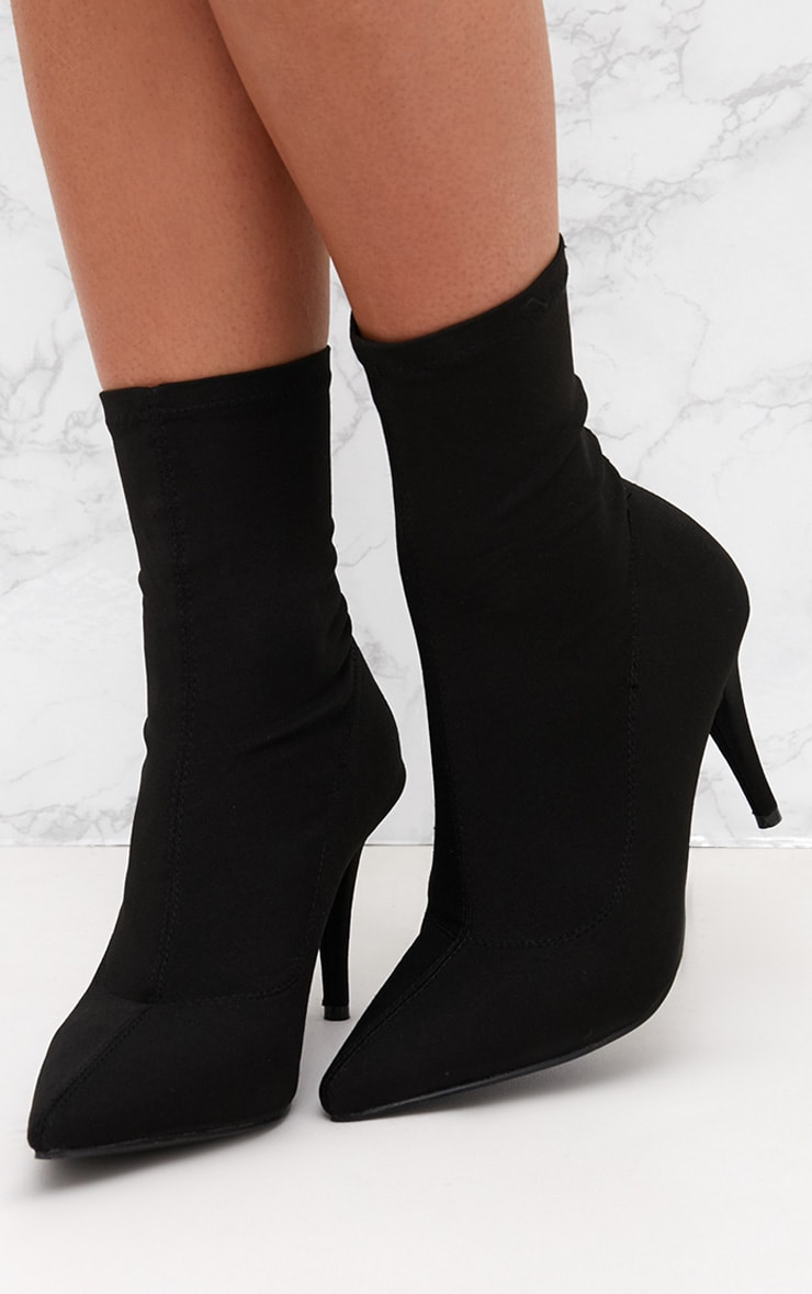 Black Sock Boot 2