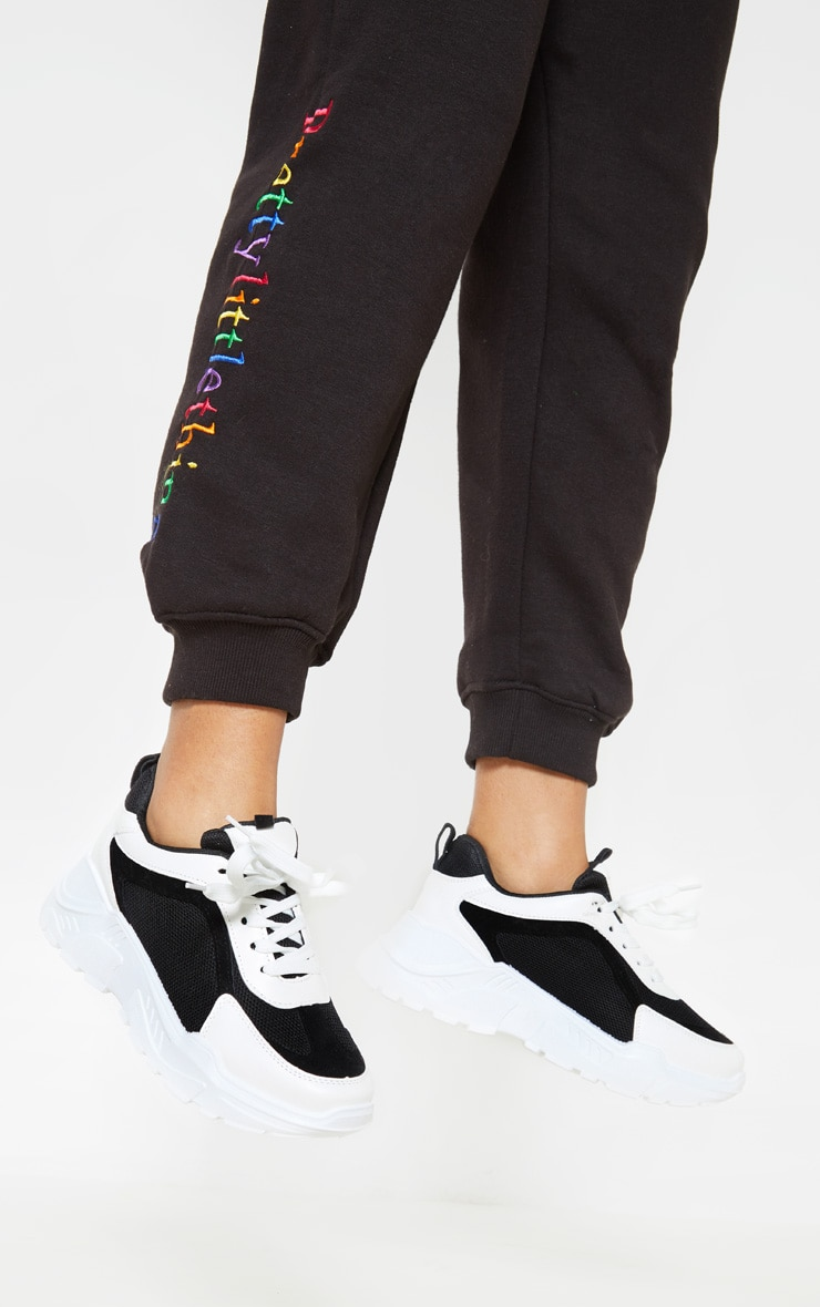 Black and White Sneakers 2