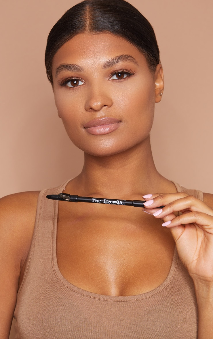 The BrowGal Skinny Eyebrow Pencil 01 Black 5
