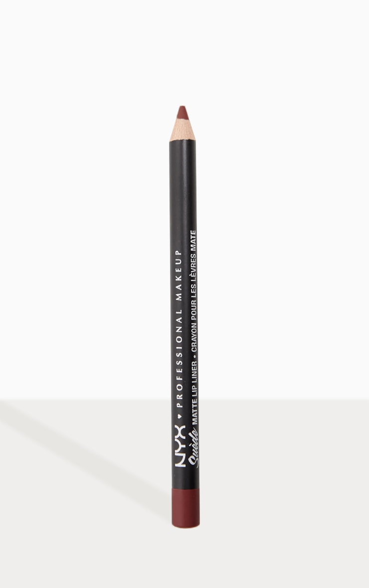 NYX Professional Makeup Suede Matte Lip Liner Girl, Bye 1