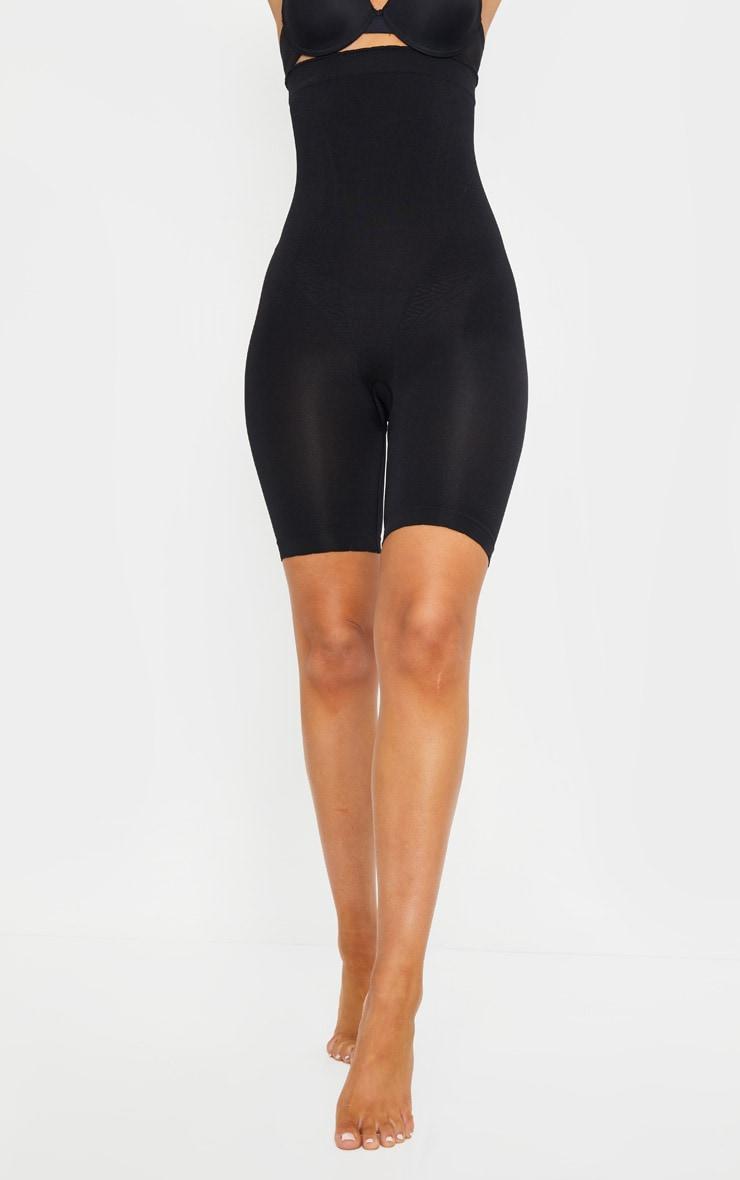 Black Bum Lift Shapewear High Waisted Short 2