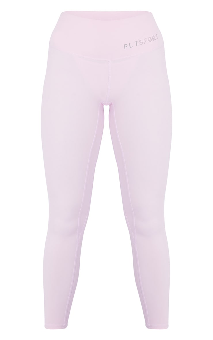 PRETTYLITTLETHING Pink Sculpt Luxe High Waist Gym Legging 1