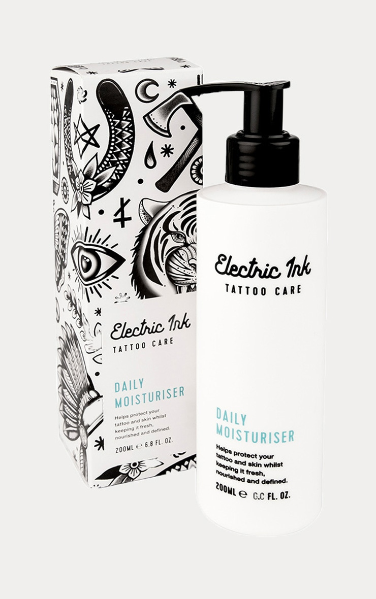 Electric Ink Tattoo Daily UVA UVB Moisturiser 1