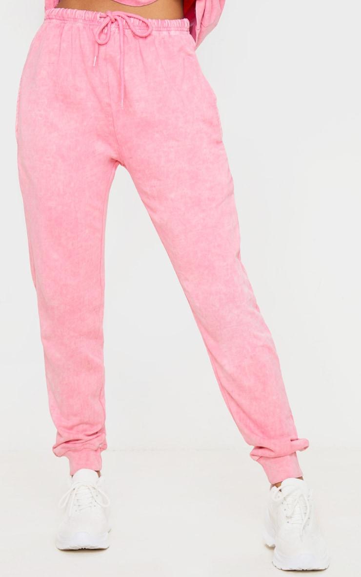 Light Pink High Waisted Skinny Jogger 2