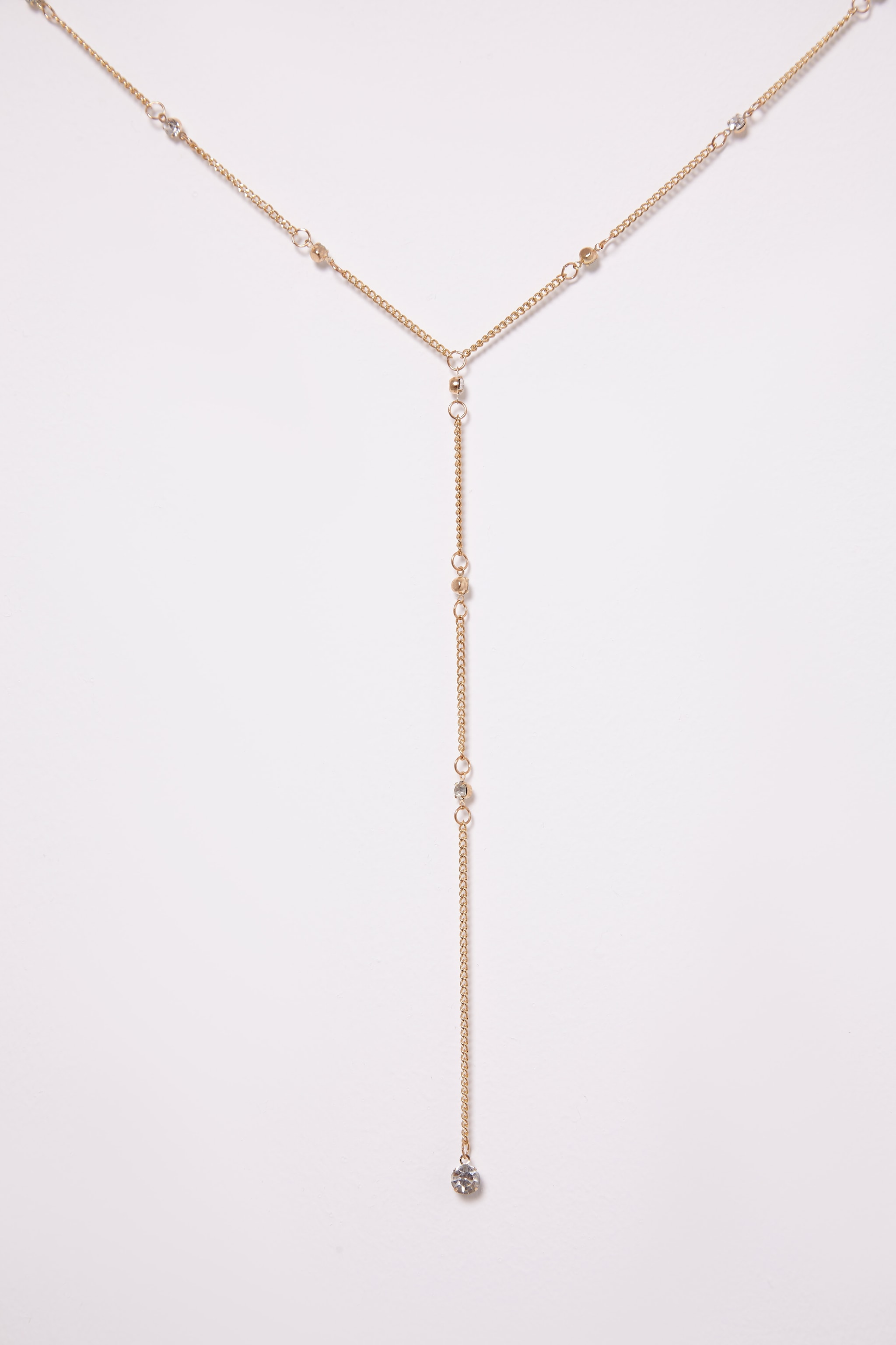 Tagan Gold Chain Drop Choker 2