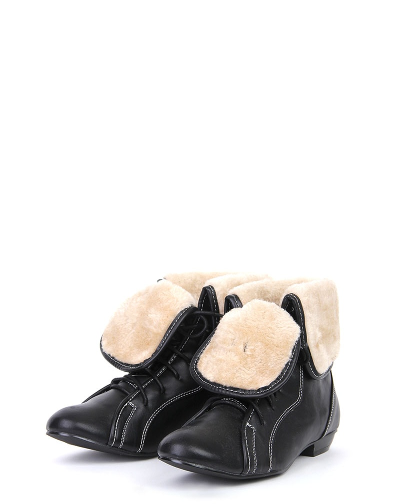 Aila Shearling Lace Up Boots 2