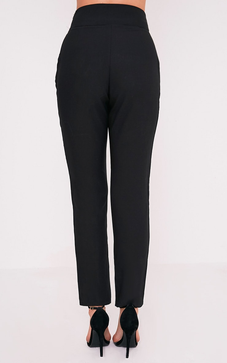 Wendy Black Front Seam Trousers 6
