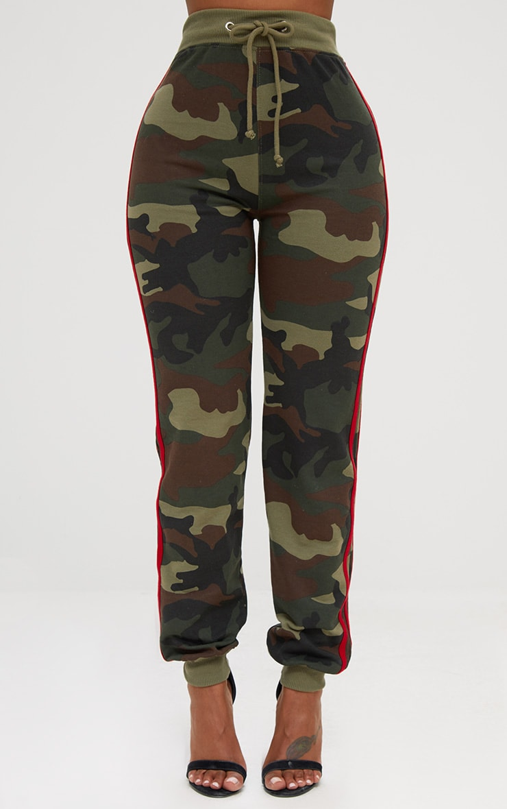 Shape Camo Side Stripe Joggers 2