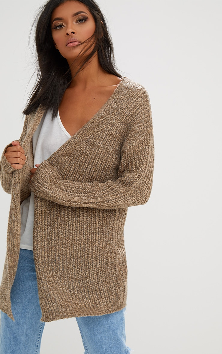 Stone Lace Tie Back Cardigan 2