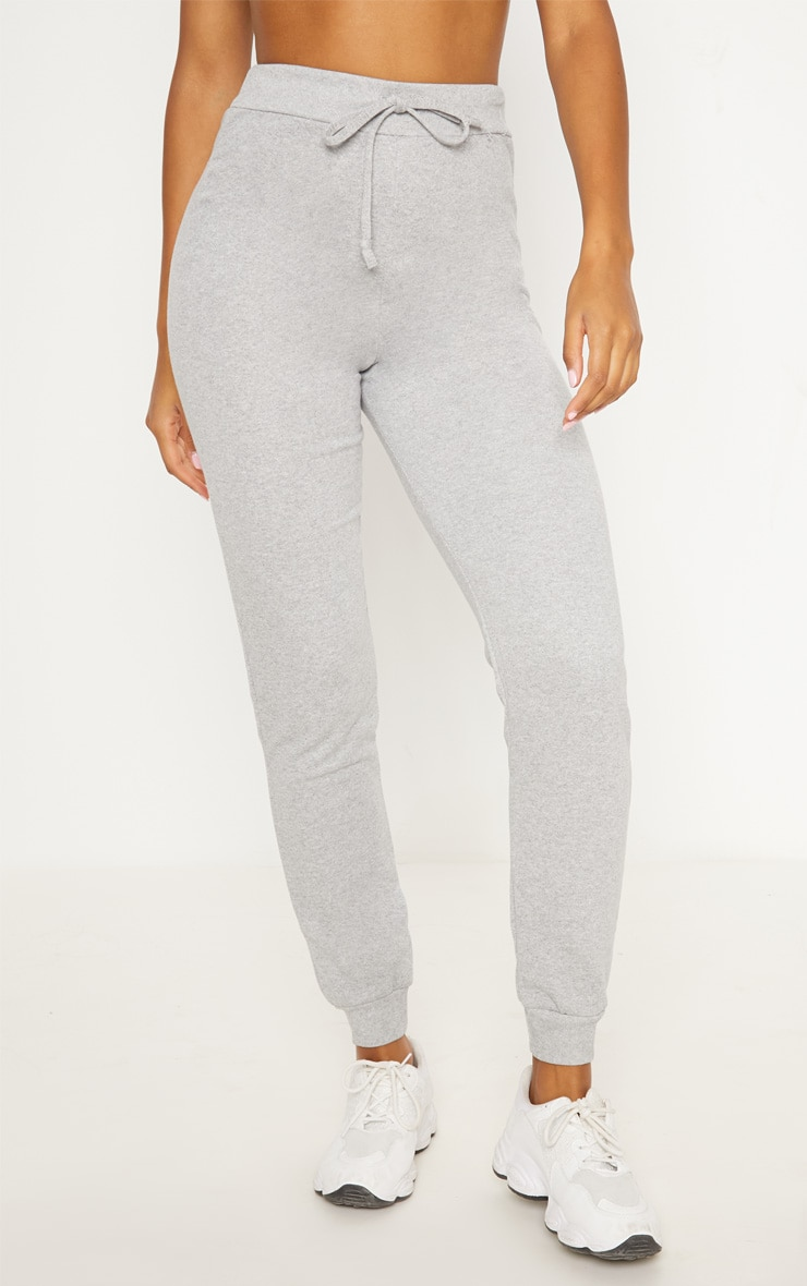 Grey Ultimate Marl Sweat Joggers  2