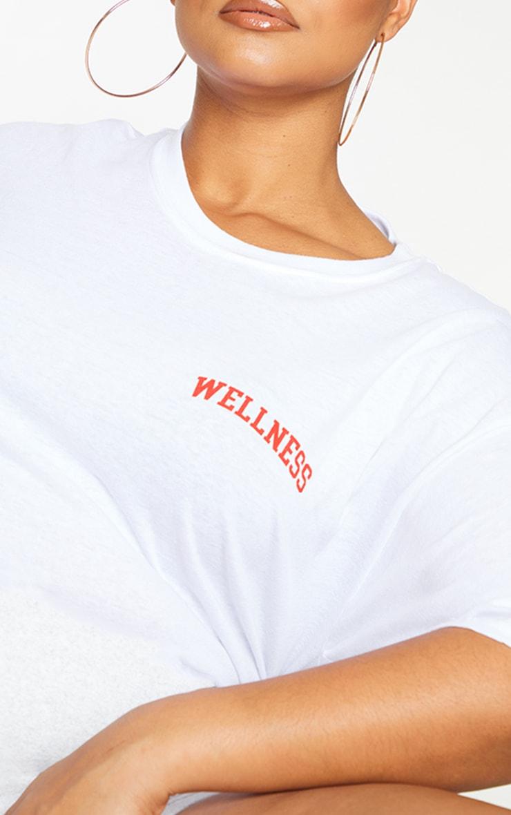 Plus Wellness White T Shirt 4