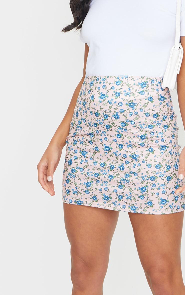 Petite Stone Ditsy Floral Mini Skirt 5