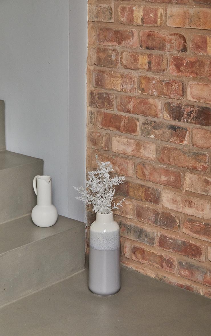 Grey Glaze Gradient Vase 1