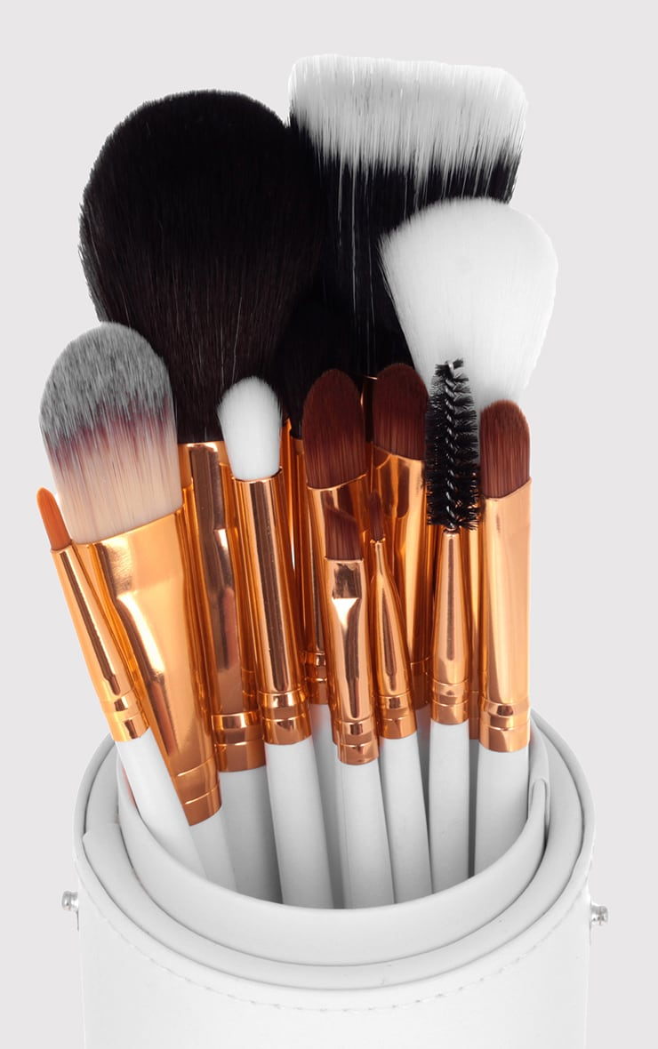 Beau Belle Brushes Gold Pot Set 4