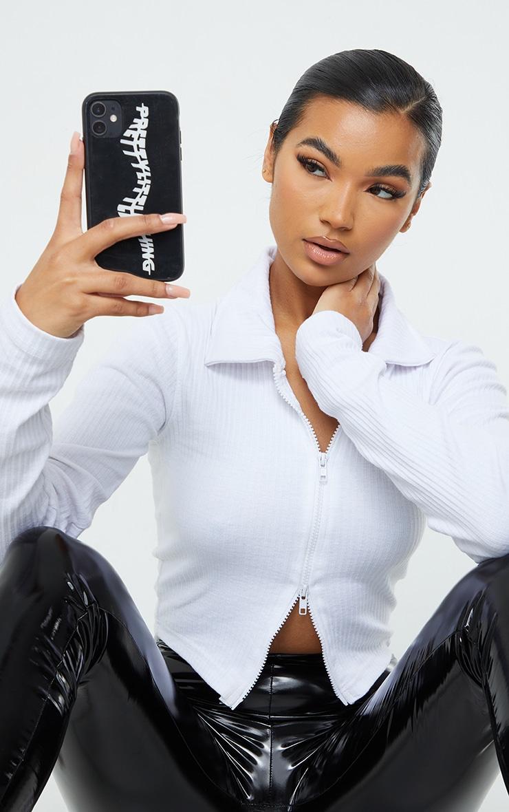 PRETTYLITTLETHING Black iPhone 11 Phone Case 1