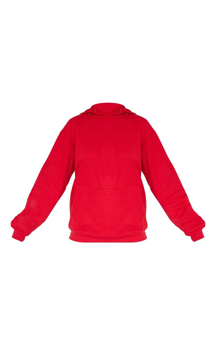 هودي فضفاض من مجموعة ألتيميت، لون أحمر. 5