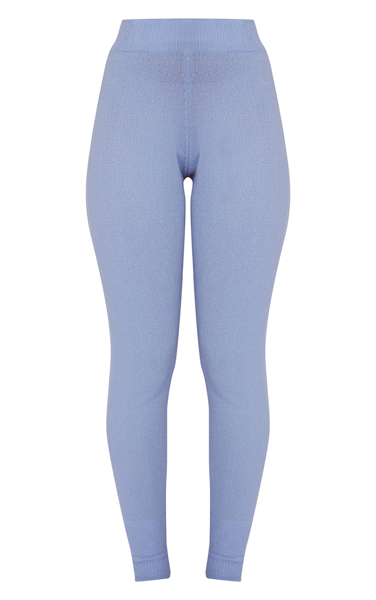 Baby Blue Soft Knit Joggers 5