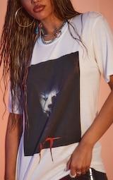 White It Halloween Print T Shirt 4