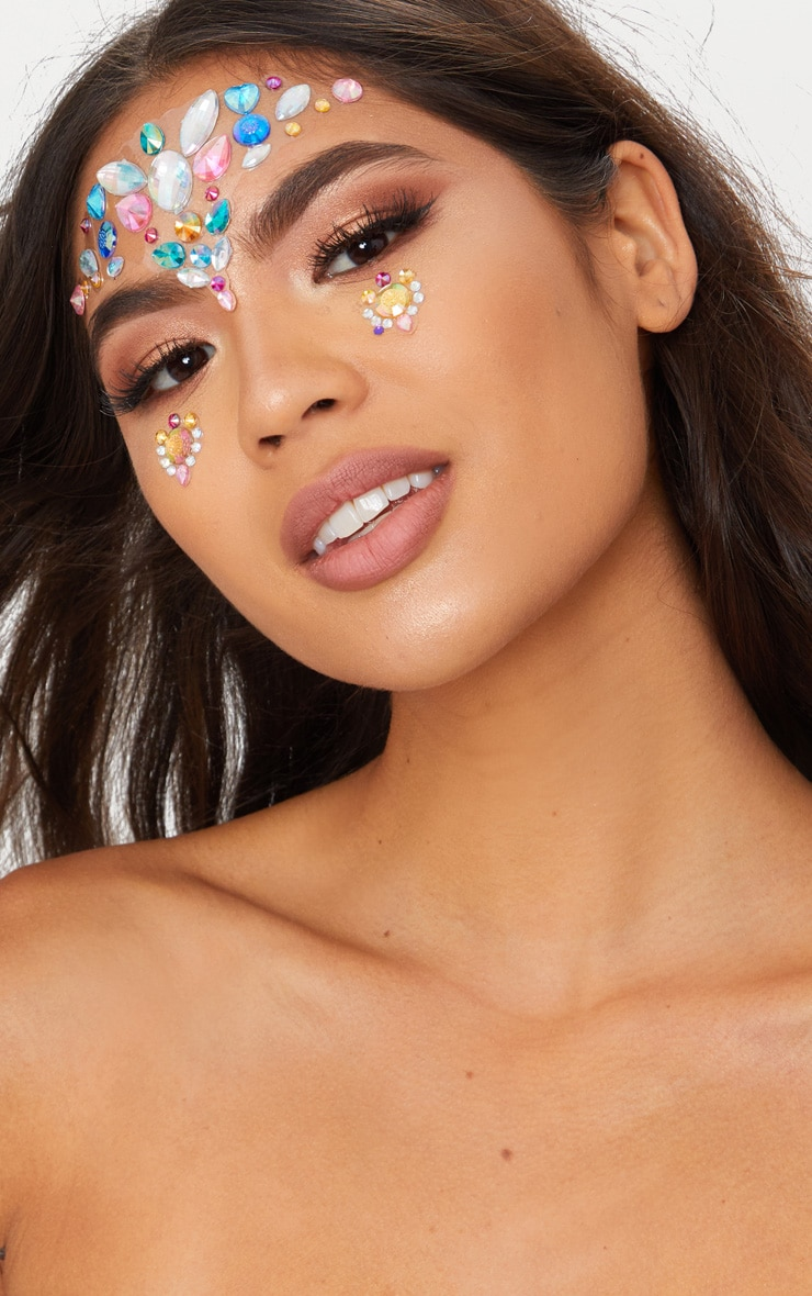 Bijoux pour le visage Mermaids Tears - Festival Face  1