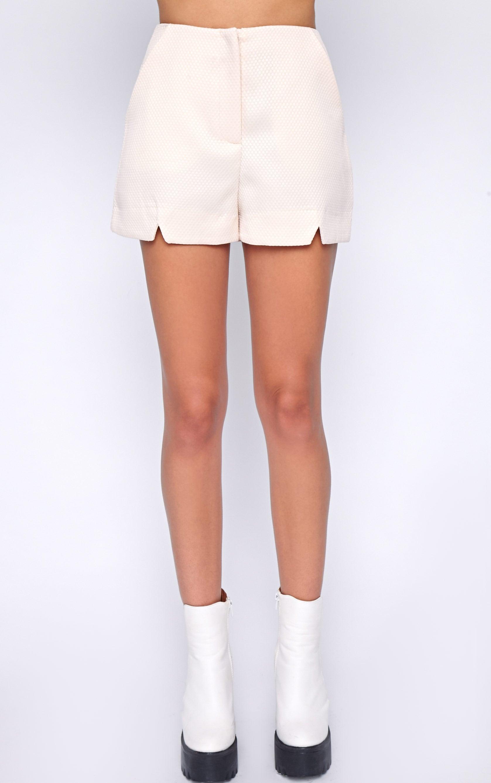 Talia Nude Textured Short -8 5