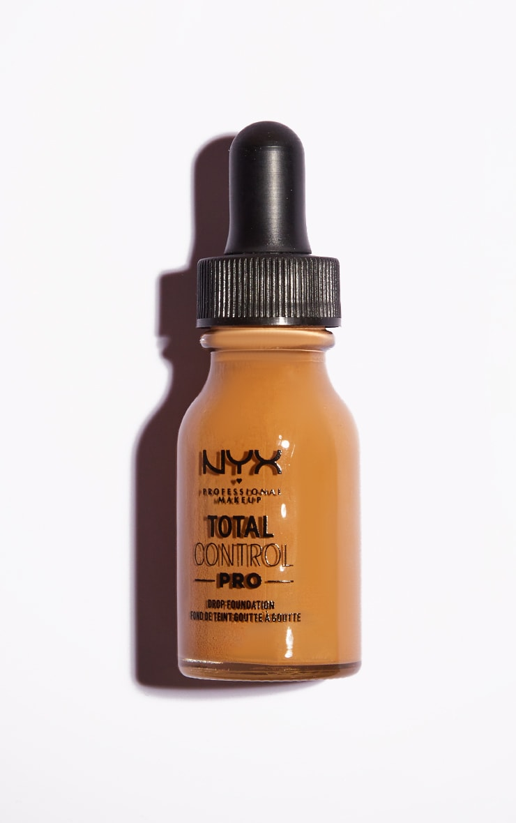 NYX PMU Total Control Pro Drop Controllable Coverage Foundation Golden 2