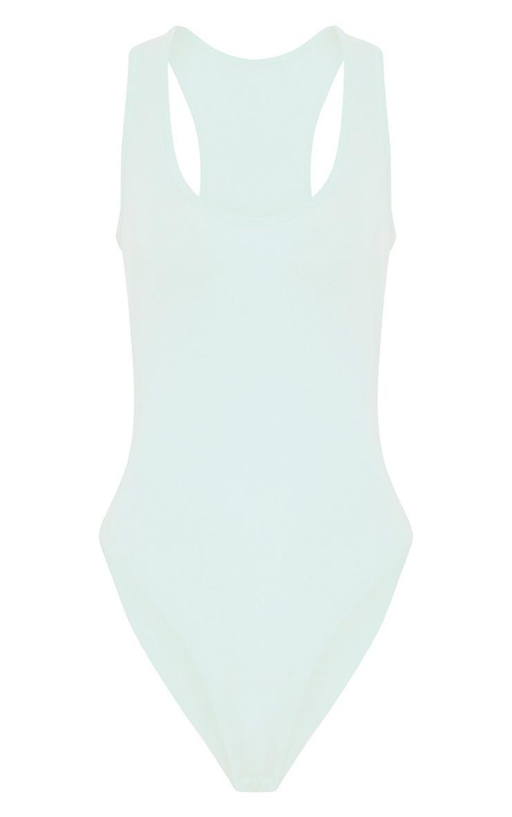 Basic Mint Racer Back Bodysuit 3