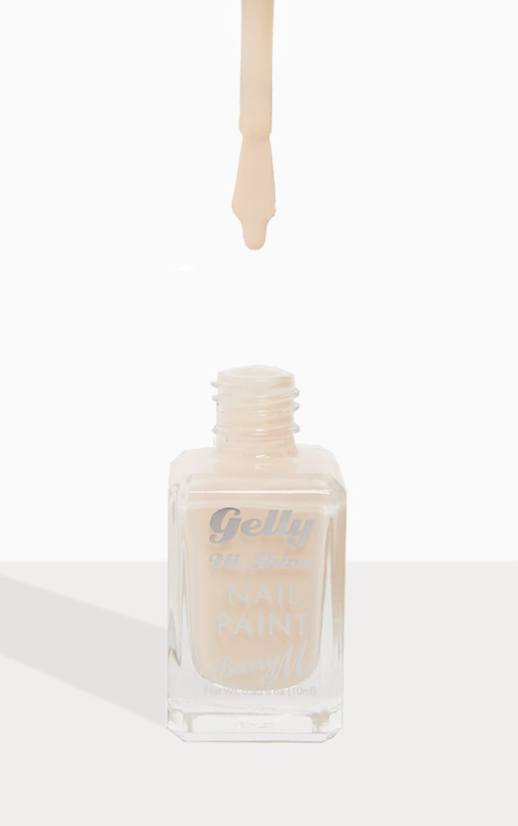 Barry M Cosmetics Gelly Nail Paint Iced Latte 1
