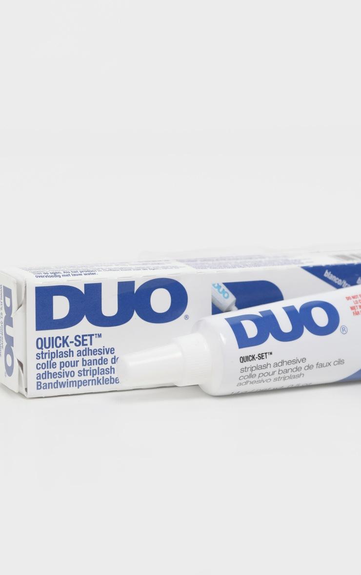 Duo Supersize Quickset Striplash Clear Eyelash Glue 3