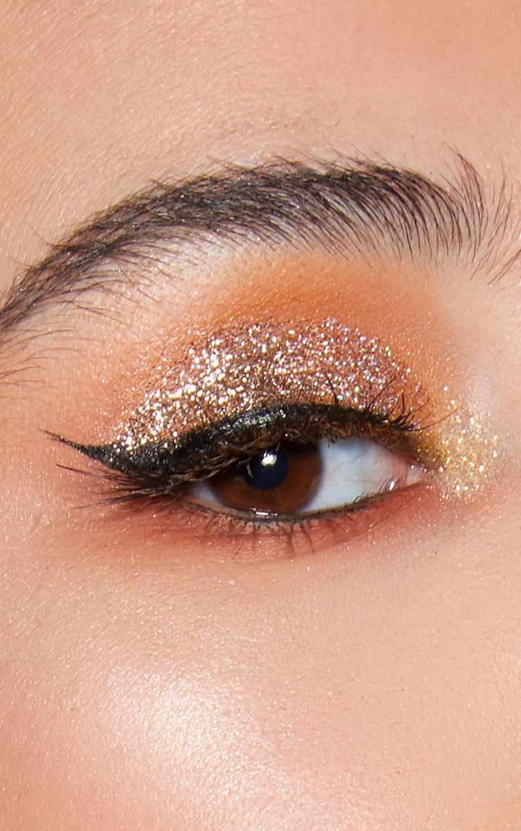 NYX Professional Makeup Metallic Glitter Goldstone 4
