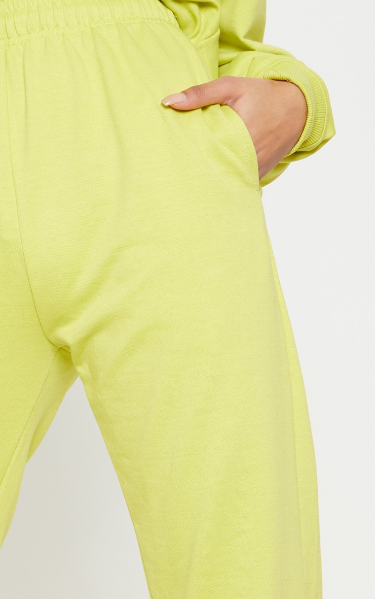 Neon Lime Casual Jogger 5