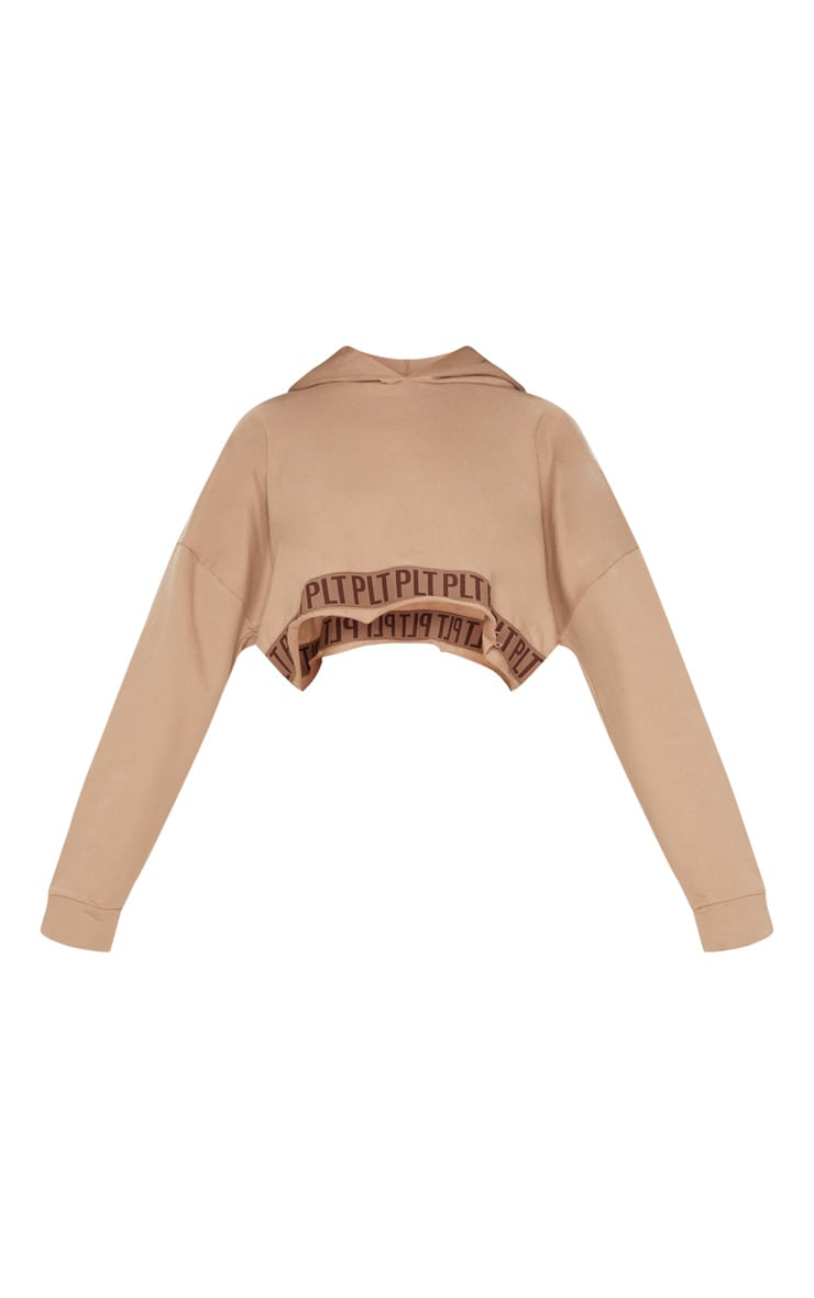 PLT Stone Band Cropped Hoodie 4