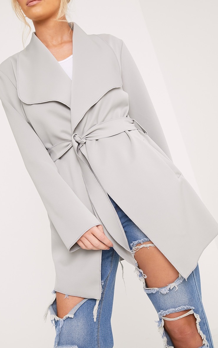 Lyla Grey Scuba Waterfall Jacket 5