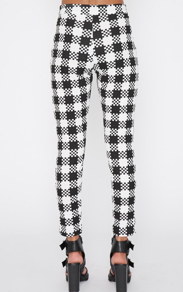 Shiri Monochrome Dogtooth Trouser 4