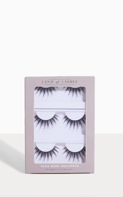 6959301c99c Land of Lashes Faux Mink Aurora Multipack PrettyLittleThing Sticker