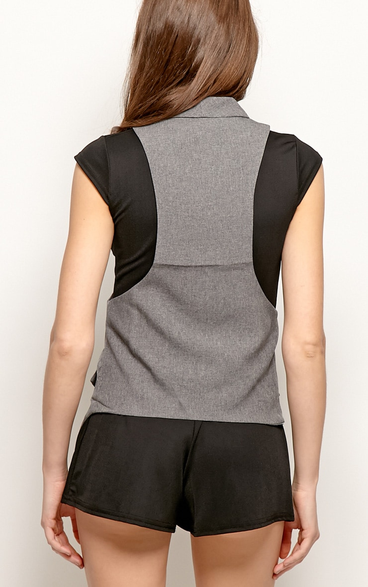Andrej Grey Waist Coat  2