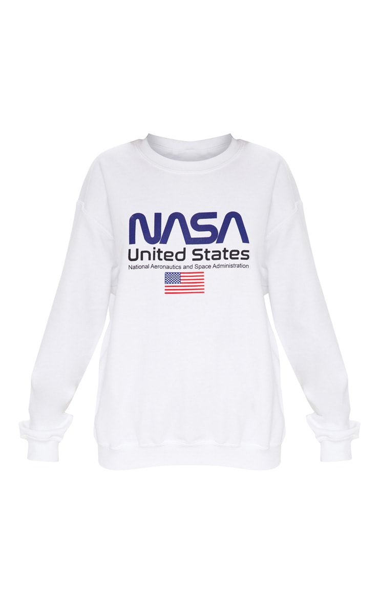 White NASA Sweater 3
