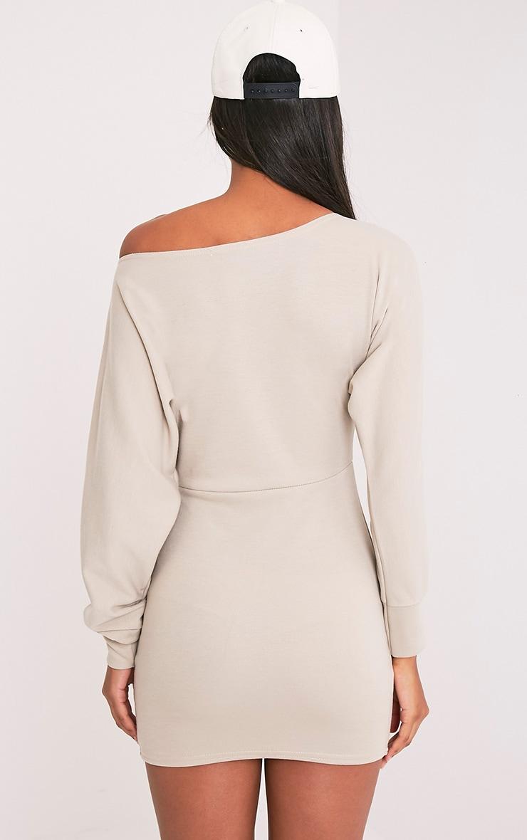 Narlie Stone Off The Shoulder Sweater Dress 2
