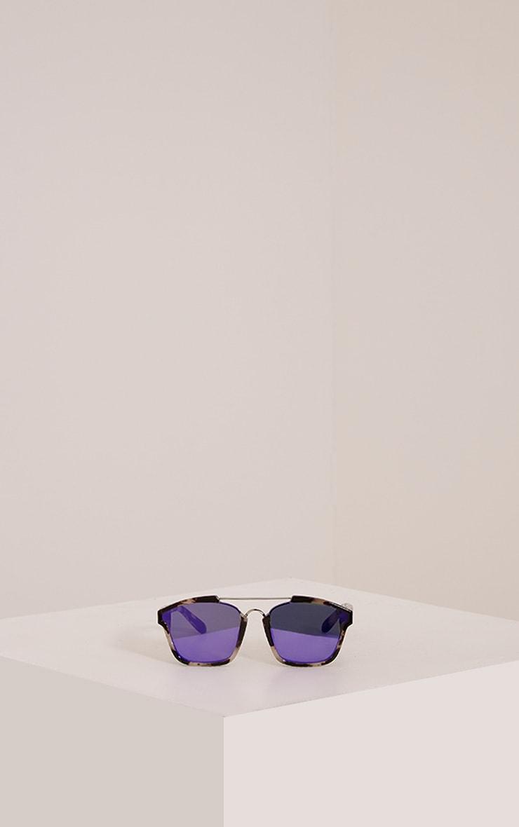 Lexus Multi Pattern Framed Sunglasses 3