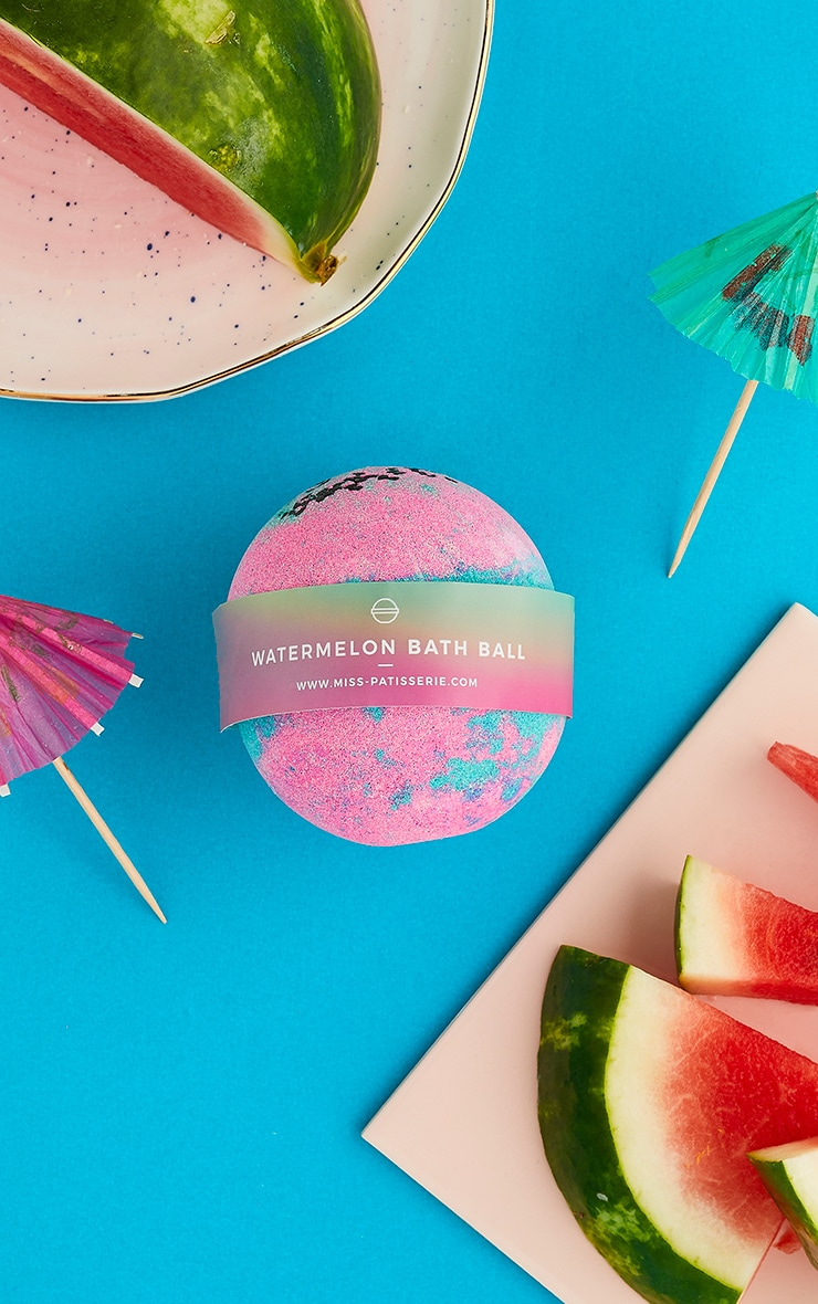 Miss Patisserie Watermelon Bath Ball 1