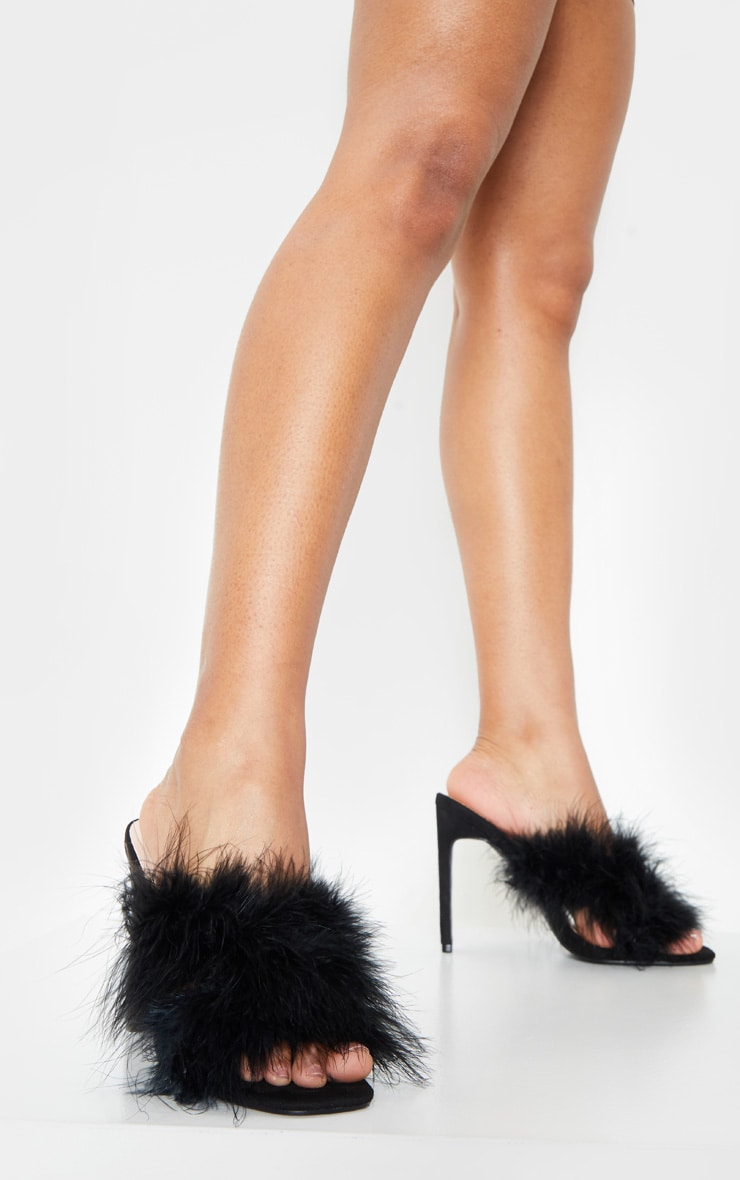 Black Feather Mule 2