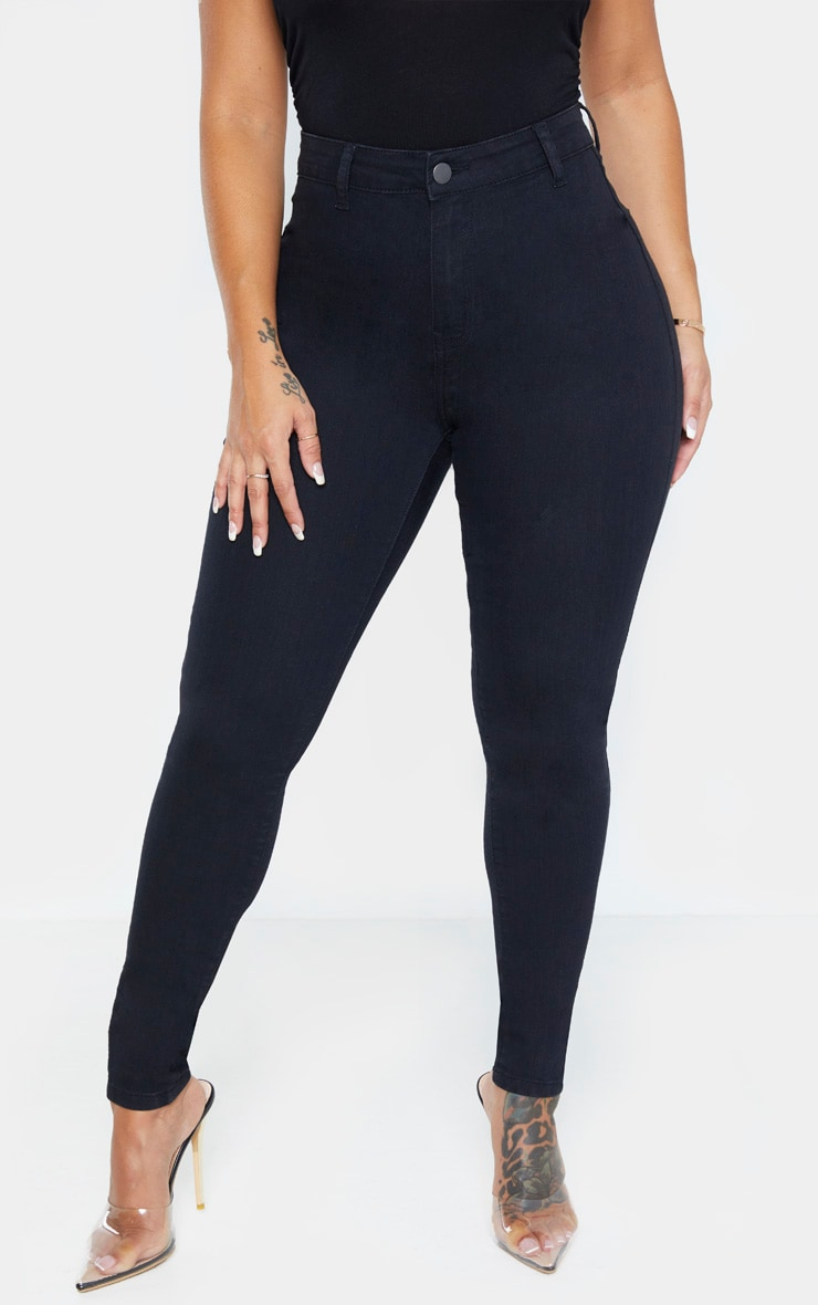Shape Black Disco Skinny Jeans 2
