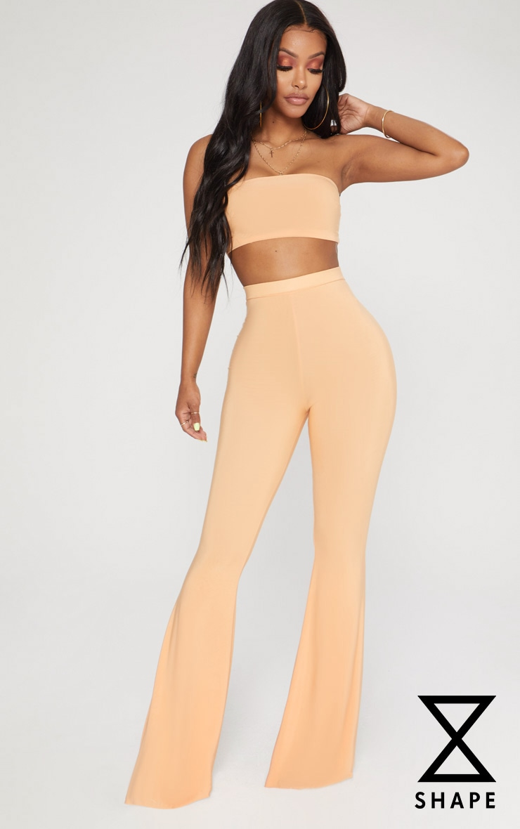 Shape Tangerine Slinky Flared Trousers 1