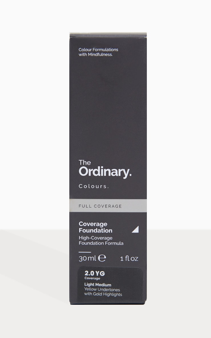 The Ordinary Coverage Foundation 2.0YG Light Medium 2