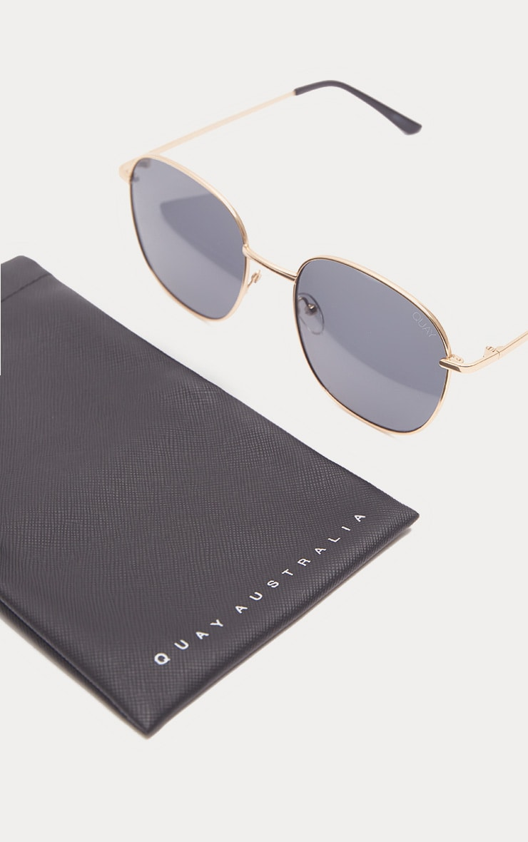 QUAY AUSTRALIA Black Jezabell Sunglasses 4