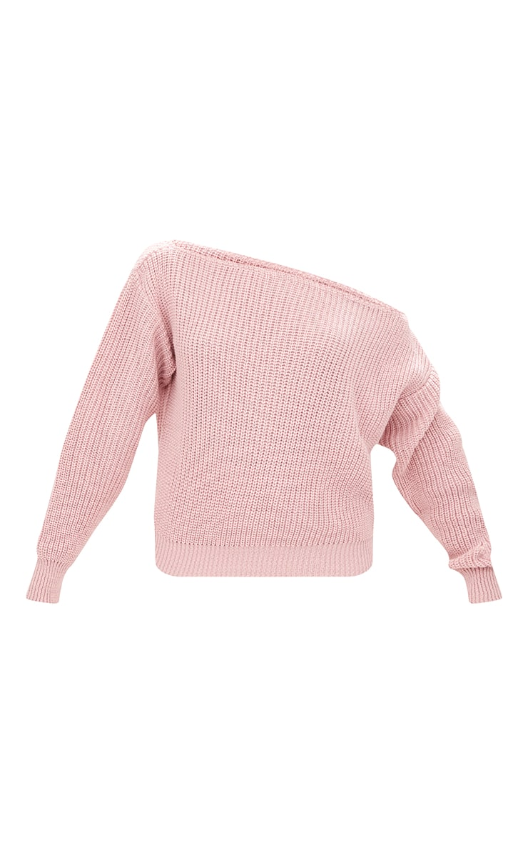 Blush Off Shoulder Jumper 3